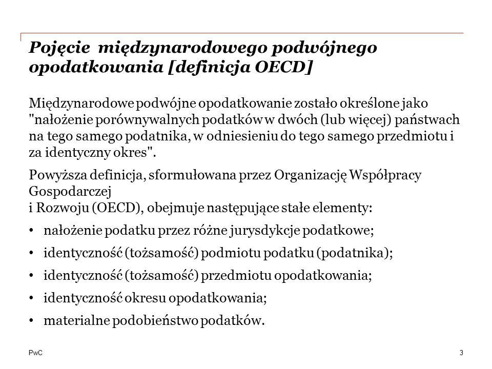 Pojęcie międzynarodowego podwójnego opodatkowania [definicja OECD]